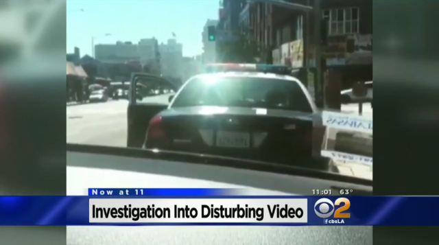 Trigger-Happy LA Police Blame Fatal Shooting On Rappers' Stunt Video