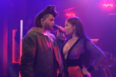Hear The Weeknd&#8217;s &#8220;The Hills&#8221; Remixes With Eminem &#038; Nicki Minaj, Watch His Return To <em>SNL</em>