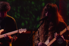 "Watch Beach House Perform ""One Thing"" On Colbert"