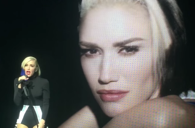 "Watch Gwen Stefani Debut Divorce Song ""Used To Love You"" In NYC"
