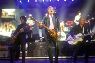 "Paul McCartney Played ""Drive My Truck,"" Made Trucking Jokes At His Father-In-Law's Trucking Company Gala"