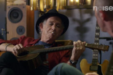 Watch Keith Richards Teach Matt Sweeney Some Acoustic Licks