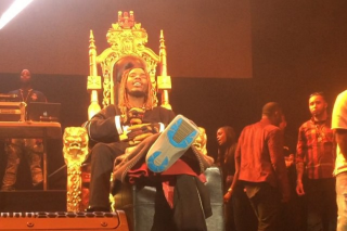 Fetty Wap Sees Dave Grohl's Motorized Throne, Raises Him A Golden Throne
