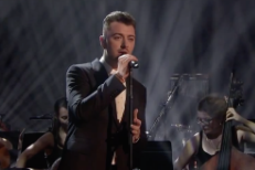 "Watch Sam Smith Sing ""Writing's On The Wall"" Live For The First Time On Graham Norton"