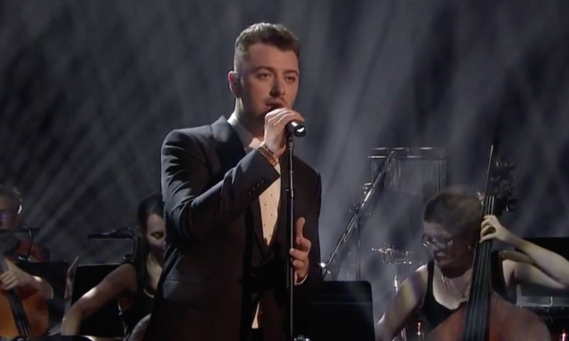 """Watch Sam Smith Sing """"Writing's On The Wall"""" Live For The First Time On Graham Norton"""