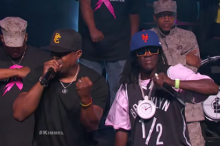Watch Public Enemy Play <em>Kimmel</em> In Brooklyn &#038; Cameo In His <em>Do The White Thing</em> Parody