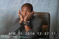 "Watch Pharrell's Heated ""Blurred Lines"" Lawsuit Deposition"