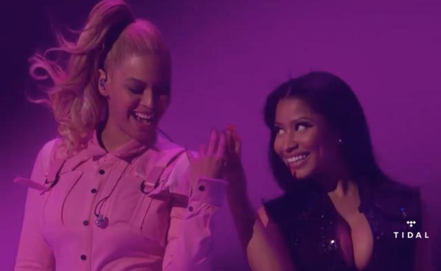 """Watch Beyoncé Sing A Nicki Minaj-Inspired Version Of Prince's """"Darling Nikki"""""""