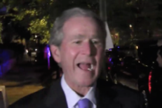 George Bush Doesn't Care About President Yeezy