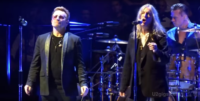 Watch Patti Smith Sing With U2 In London