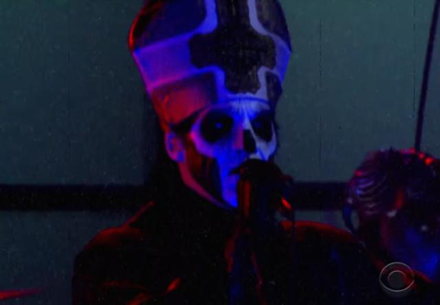 "Watch Ghost Perform ""Cirice"" On Colbert"