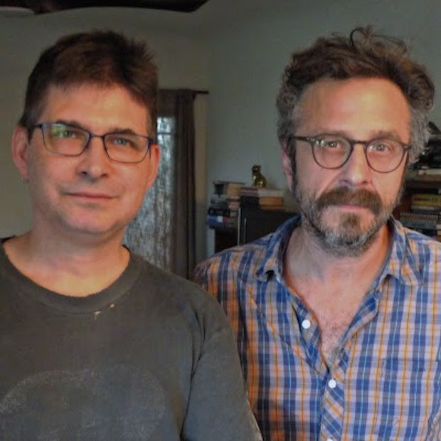Steve Albini and Marc Maron