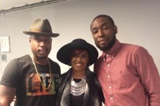 Talib Kweli and Rapsody and 9th Wonder at the Tonight Show