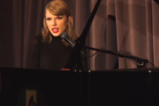 Taylor Swift Shares Solo Piano &#8220;Out Of The Woods&#8221; For <em>1989</em>&#8217;s 1st Birthday