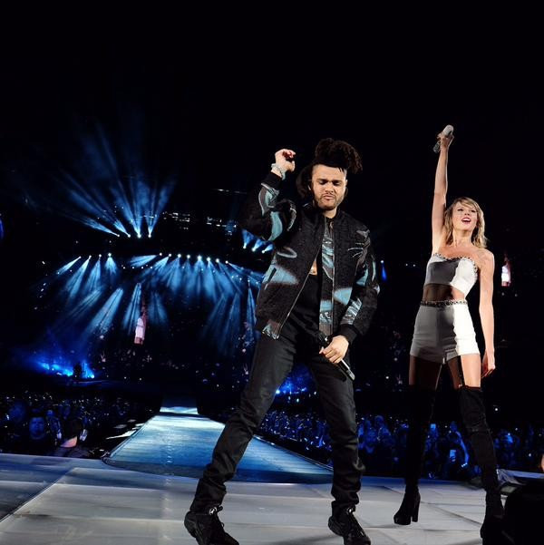 The Weeknd Says Drunk Taylor Swift Kept Petting His Hair When They First Met Stereogum