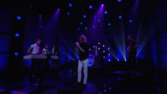 "Watch EL VY Bring ""Return To The Moon"" To Conan"
