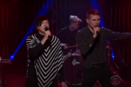 Watch FFS (Franz Ferdinand &#038; Sparks) Perform And Get Interviewed On <em>James Corden</em>