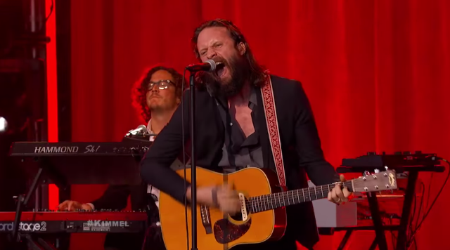 """Watch Father John Misty Perform """"The Ideal Husband"""" On Kimmel"""