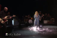Watch Florence + The Machine Perform &#8220;Ship To Wreck&#8221; In A Pool Of Water On <em>Ellen</em>