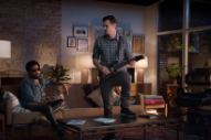 James Franco & Lenny Kravitz Made A Guitar Hero Commercial