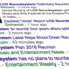 Are LCD Soundsystem Reuniting?