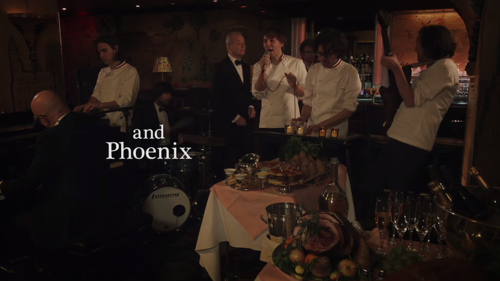 See Phoenix, Miley Cyrus In Bill Murray's Very Murray Christmas ...