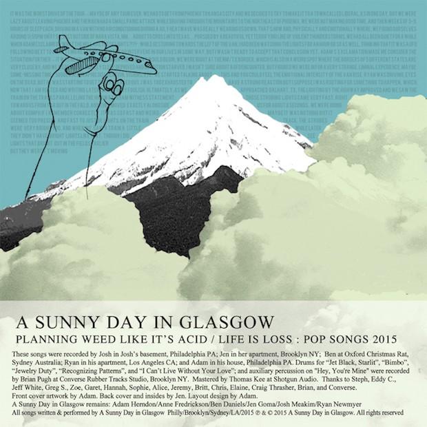 "A Sunny Day In Glasgow - ""Jet Black, Starlit"""