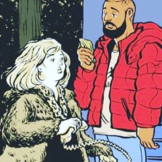 """Adele & Drake Tease """"Hotline Bling"""" Remix"""