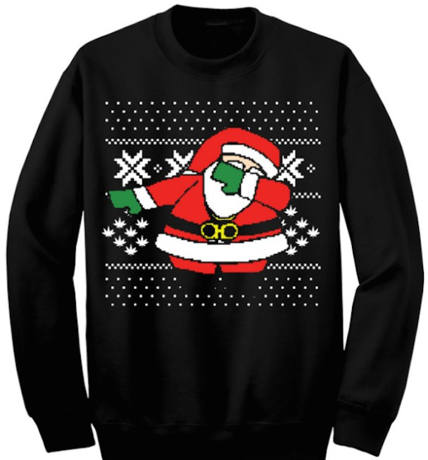 Santa's Dabbing On 2 Chainz' Ugly Christmas Sweater - Stereogum