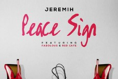 "Jeremih – ""Peace Sign"" (Feat. Fabolous & Red Cafe)"