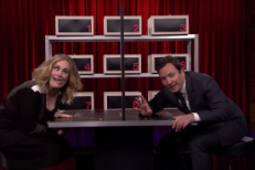 Adele and Jimmy Fallon