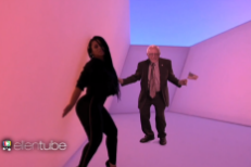 "Watch Bernie Sanders Step Into The ""Hotline Bling"" Video On Ellen"