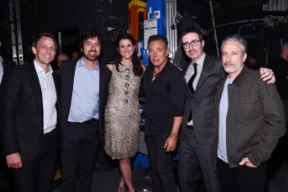 """Watch Bruce Springsteen Tell A Dirty Joke, Play """"Darlington Country"""" At The Stand Up For Heroes Benefit"""