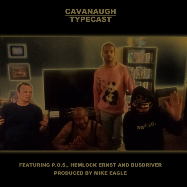 Cavanaugh - Typecast - Single Artwork
