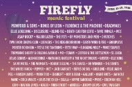 Firefly Festival 2016 Lineup