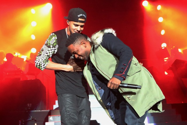 Kendrick Lamar's Sister Accidentally Reveals His Upcoming J. Cole Collaboration