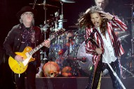 Aerosmith Guitarist Seems Pretty Pissed About Steven Tyler's Solo Career