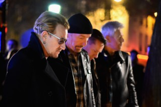 U2 Discuss Playing In The Face Of Tragedy, Visit Site Of Terror Attack In Paris
