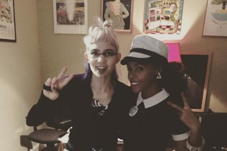 Watch Grimes Perform With Janelle Monáe In Atlanta