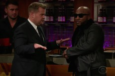 Jeezy and James Corden