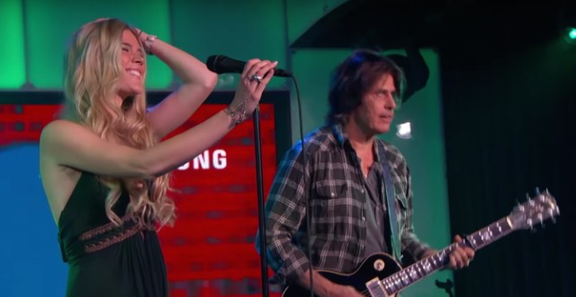 Joss Stone and Stone Temple Pilots on Kimmel