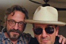 Marc Maron and Elvis Costello