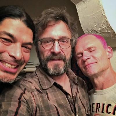 Hear Flea & Metallica's Robert Trujillo On A Bass-Heavy Episode Of <em>WTF</em>