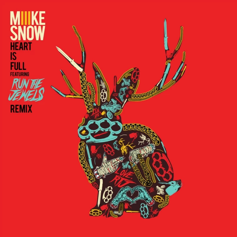 "Miike Snow – ""Heart Is Full (Run The Jewels Remix)"""