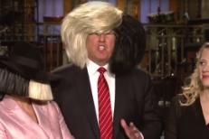 Watch Donald Trump & Sia's Hairy <em>SNL</em> Promos
