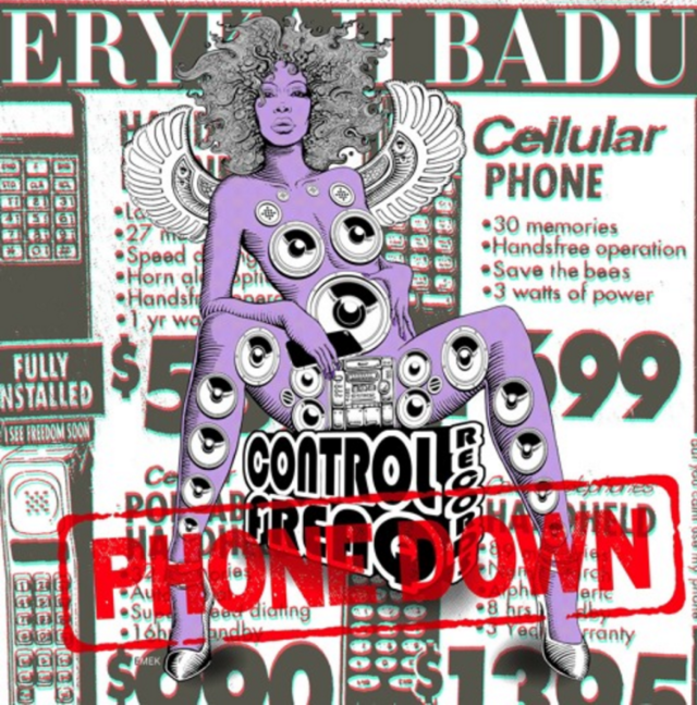 "Erykah Badu - ""Phone Down"""