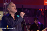 Watch Morrissey Play Three Songs On Chilean TV