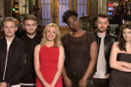 Watch Disclosure, Lorde, &#038; Sam Smith In Elizabeth Banks&#8217; <em>SNL</em> Promos