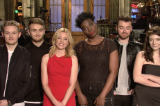 Watch Disclosure, Lorde, & Sam Smith In Elizabeth Banks' SNL Promos