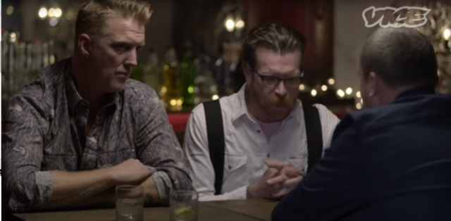 Watch Eagles Of Death Metal's First Interview About The Paris Terror Attacks